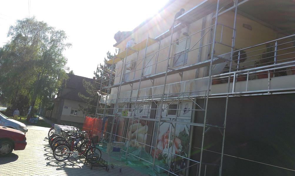 Molerski radovi Novi Sad, fasade, gipsarski radovi - Arteco